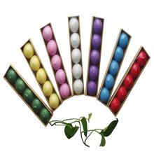 Velas flutuantes em cores diferentes
