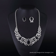Fashion Imitation Black Onyx Necklace Jewellery Set