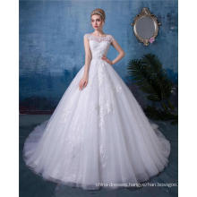 Bride dress white wedding dress vestido de novia 2018 china custom made