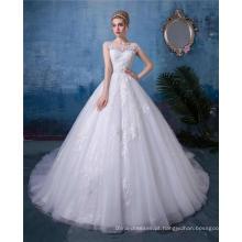 Vestido de noiva branco vestido de noiva vestido de novia 2018 china custom made
