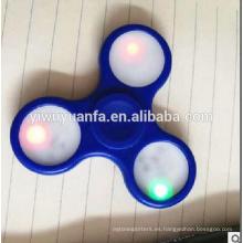 Diseño de la novedad Anti Stress Colorido LED Fidget Hand Spinner