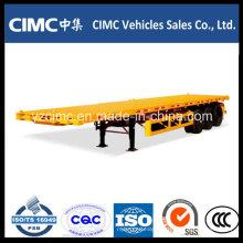 Cimc 3 Axles 40FT Бортовой Прицеп с Высокой Стальной Сталью