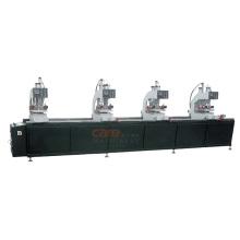 UPVC Profile Window Door Seam 4 Head Welding Fabrication Machine