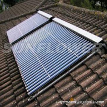 Panneau de tube solaire évacué