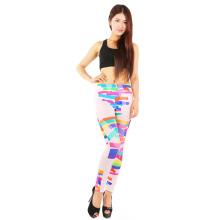 Woman Print Slim Trousers Casual Pants Leggings