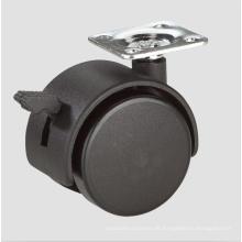 1.6inch Hauptmöbel Stühle Caster Räder mit Bremse