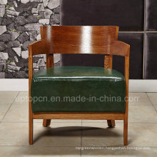 Lounge Wooden Cafe Dining Chair with Armrest (SP-HC061)