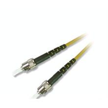 Duplex Mode ST UPC cabo de remendo de fibra óptica de PVC com 9/125 ST SM MM