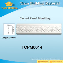 PU decorative PU wall molding for ceiling with beautiful styles