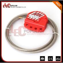 Elecpopular Mejores productos Cerradura de la válvula de seguridad ajustable Mini bloqueo del cable