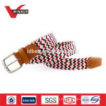 OEM woven rope elastic braided belt