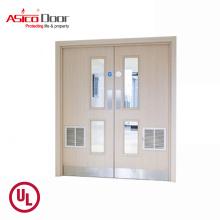 ASICO Solid Wooden Fire Rated Modern House Door Design Door