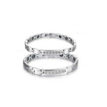 Pulseira de aço de tungstênio, casal pulseiras atacado, mais novo design de pulseira