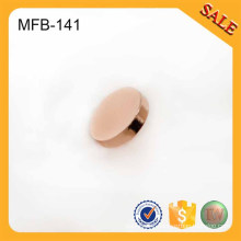 MFB141 Rose gold rim blank metal clothing buttons