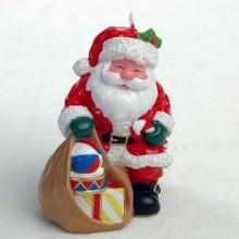 Xmas Stana Claus Candle Decoration Gift Set