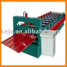 Machine à formater des rouleaux pour la toiture trapézoïdale