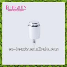 Aluminum crimp on mist sprayer pump for cosmetic packaging