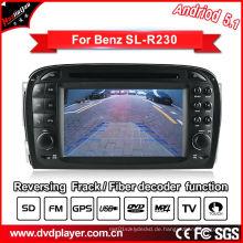 Auto Video GPS für Benz SL R230 Android System DVD Navigatior