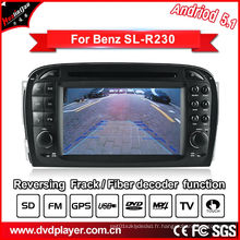 Car Video GPS pour Benz SL R230 Système Android DVD Navigatior