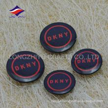 Black color safety pin customized logo bulk pin badges
