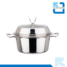 Fashionable Shape Stainless Steel Stock Pot & Soup Pot