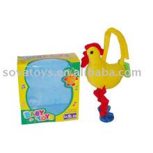 913990734-campana de bebé juguete de pollo de peluche