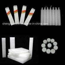 Großhandels-Paraffin-Wachs-weiße Hochzeits-Kerzen