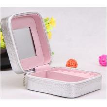 PU Leather Jewelry Box, Simple Make-up Box