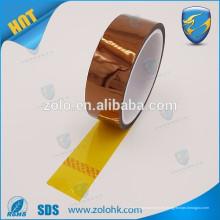 Cinta adhesiva del polyimide de la película del silicón del mercado al por mayor con sensibles a la presión