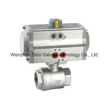 Thread2PC шаровой клапан с пневматическим приводом