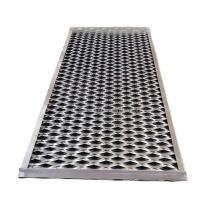 aluminum mesh screen facade