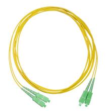 Fábrica SC Singlemode Fibra Óptica Patch Cord Simplex SC Fibra APC Jumper Wire