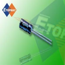 Topmay 85c Miniature Aluminum Electrolytic Capacitor
