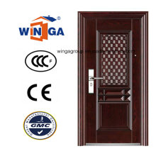 Window Shool Usando a porta de ferro metálico de aço inoxidável de aço (WS-114)