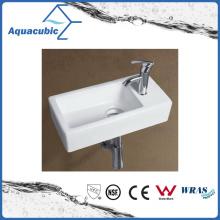 Ceramic Cabinet Art Basin and Wall Hung Hand Washing Sink (ACB8325)