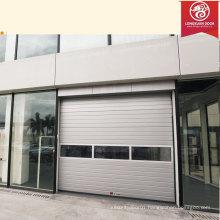 Factory Custom Glass Screen Garage Door, Commerical Aluminium Alloy Sliding Gate Garage Door                                                                         Quality Choice