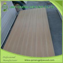 Profissionalmente exportando madeira compensada de teca Ep com boa credibilidade