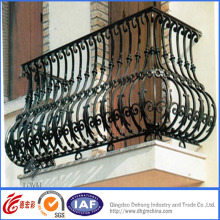 Vintage High Quality Wrought Iron Handrail