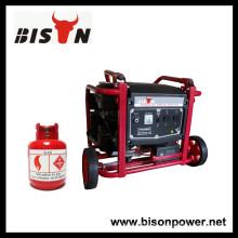BISON (CHINA) BS2500BG Garantia de 1 ano Gás Gerador Elétrico