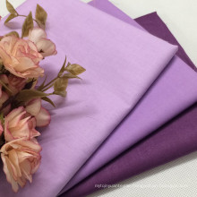 100% Cotton Solid Color Plain Dyed Fabric for Garment