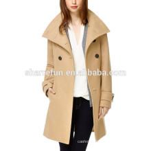 clothing factories in china shop Luxury wool coat women