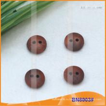 Естественные деревянные кнопки для одежды BN8003