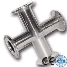 316L aço inoxidável polido cruz de fixação