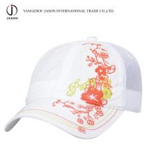 Gorra de malla 5 paneles Gorra de camionero de impresión Gorra de béisbol de malla Sombrero de deporte Gorra de moda deportiva