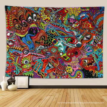 Mysterious Hippie 3D Printed Tapestry