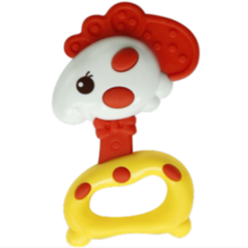 Safe Chick Shape Baby Music Toy Campana Anillo