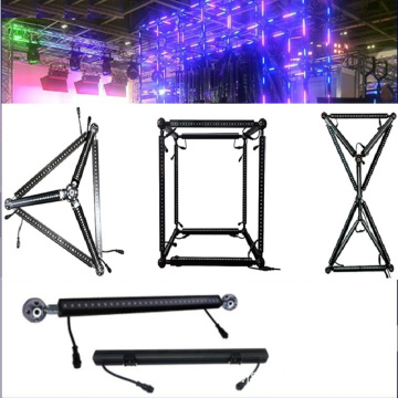 DJ Booth Dmx Led Rvb Triangle Bar