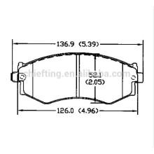 D462 OE No.41060-32R91 for Nissan Infiniti Hyundai Kia pride brake pad