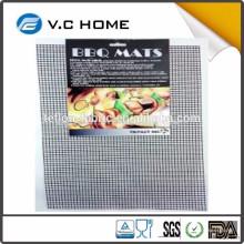 China Hersteller PFOA freie hitzebeständige Antihaft-Teflon-Gitter-Backmatte