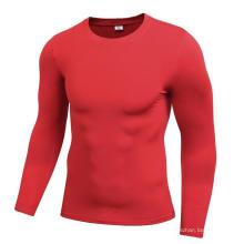 Ropa de fitness y deportiva para hombres Camiseta de secado rápido de manga larga